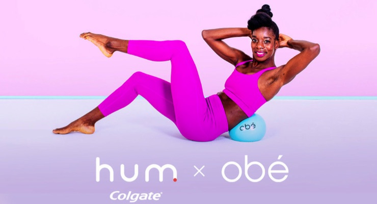 Colgate's Hum Smart Toothbrush and Obé Fitness Co-Promote Healthy Habits