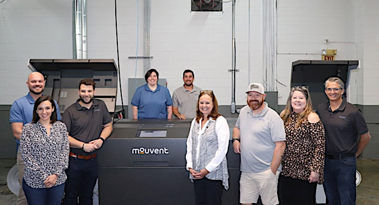Enterprise Print Group goes digital with Mouvent LB702-UV press