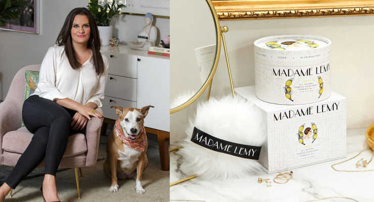 Madame Lemy Partners with Bentley Laboratories