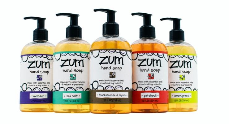 Indie Beauty Brand Zum Adds Natural Liquid Hand Soaps
