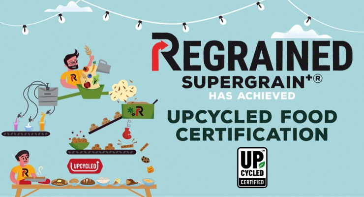 Upcycled Food Association Grants First Certification to ReGrained