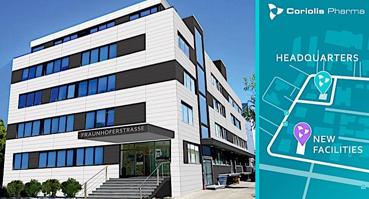 Coriolis Pharma Expands ATMP Development Facilities