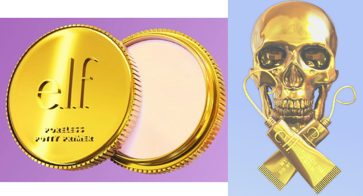 E.l.f. Launches Gold-Dipped Crypto Collection as NFTs