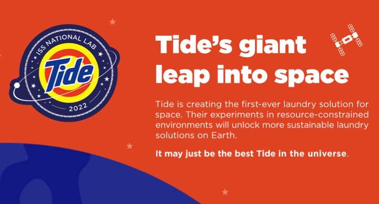 P&G's Tide Is the First Laundry Detergent for Space