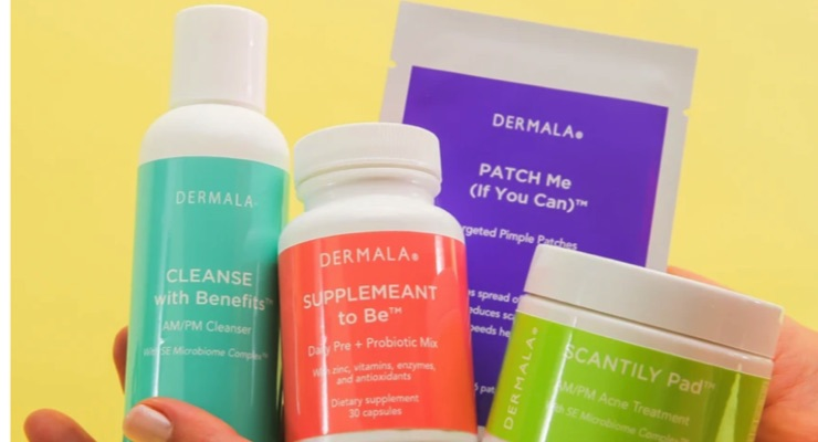 Dermala Earns Patent for Microbiome-Derived Postbiotics for Acne Care