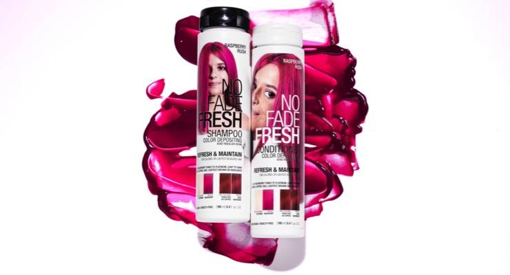 No Fade Fresh Adds Raspberry Rush, Sunflower Brite Blonde Hair Color