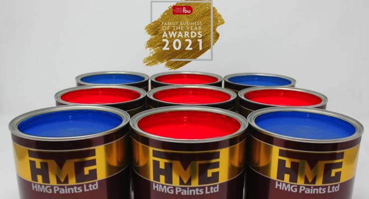 HMG Paints Ltd Receives 'Essence of Family Business' Award