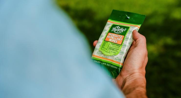 Murphy's Naturals Releases Mosquito Repellent Wipes