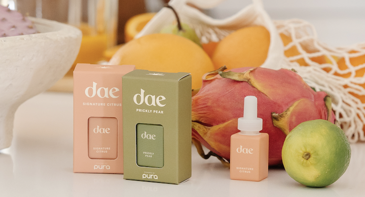 Fragrance Brand Pura Collaborates with Dae Hair Care on New Home Scents
