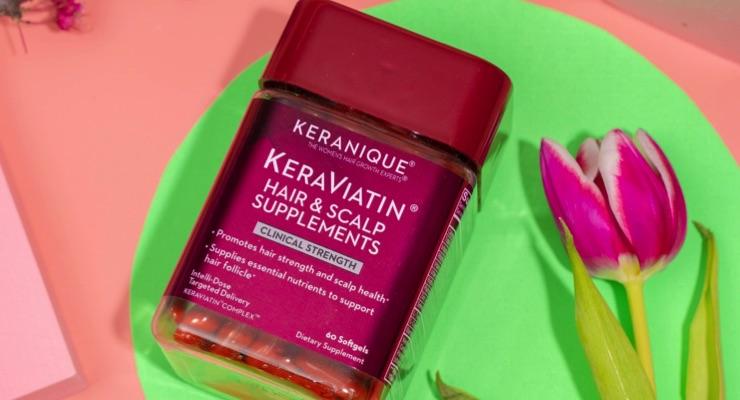 KeraViatin Wellness Hair Supplement Features Antioxidants for Growth