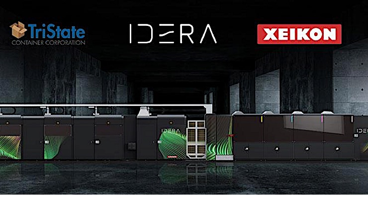 TriState Container Corporation goes digital with Xeikon IDERA
