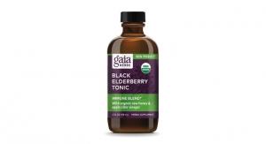 Gaia Herbs Launches Black Elderberry Tonic