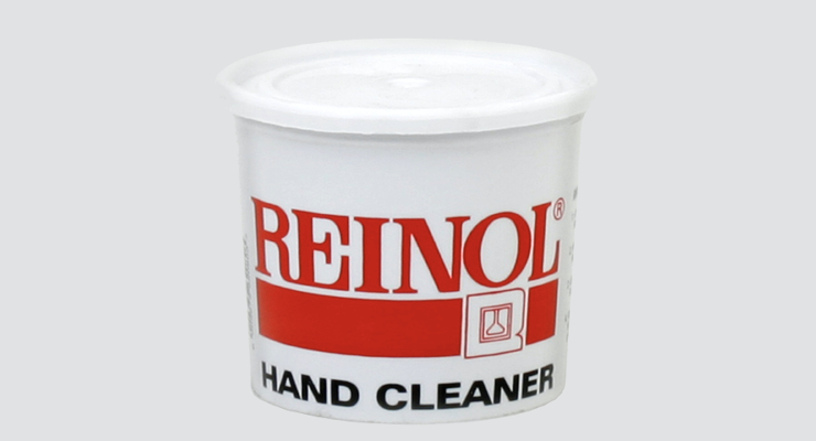 Solvent-Free Reinol Soap Protects Workers' Hands