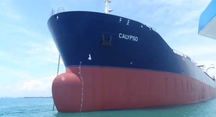 Tanker Vessel M/T Calypso Validates Selektope Antifouling Ability