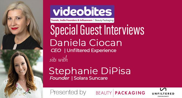 Videobite: Interview with Stephanie DiPisa, Founder, Solara Suncare