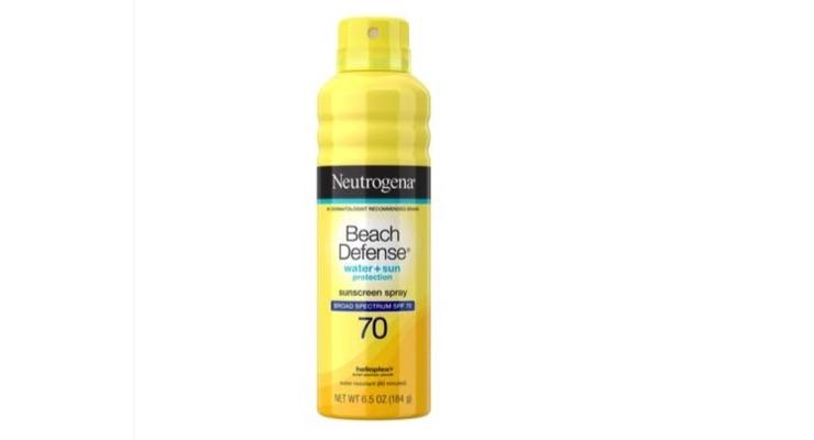 Johnson & Johnson Recalls Neutrogena & Aveeno Aerosol Sunscreens