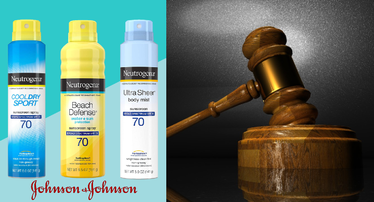 Class Action Lawsuits Filed Against Johnson & Johnson over Benzene in Sunscreens