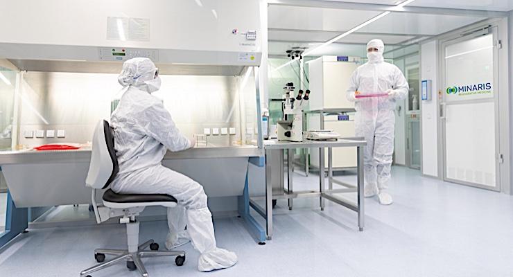 Minaris and bluebird bio Enter Manufacturing Pact