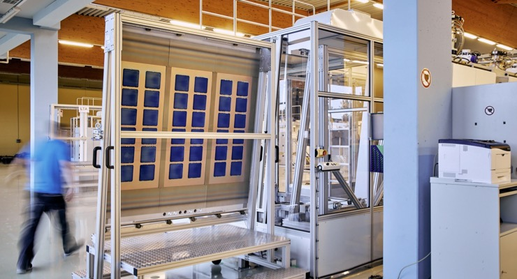 Oxford PV Completes Build-out of its Brandenburg Factory