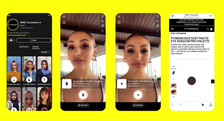 Estée Lauder Companies & M·A·C Cosmetics See Success With Lipstick Sales Via Snapchat Social Media