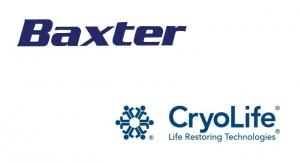 Baxter Buys CryoLife