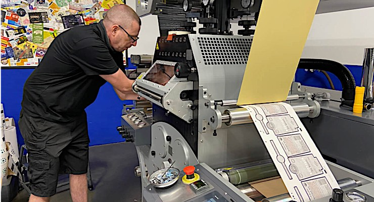 Hub Labels expands label embellishment capabilities with help of GM