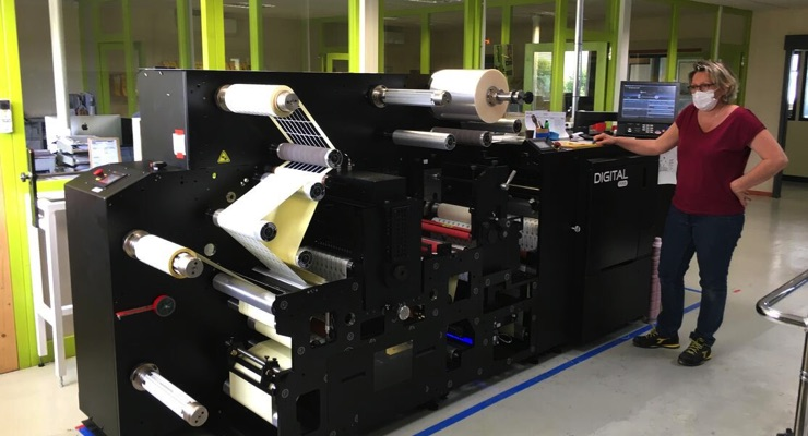 French printer installs second Mark Andy digital press