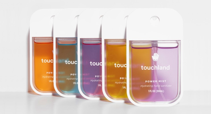 Touchland Expands Power Mist Moisturizing Hand Sanitizers Collection