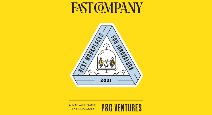 P&G Ventures is Named a Best Workplace for Innovators
