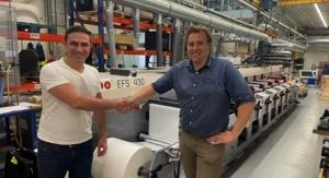 MPS flexo press destined for Albanian label printer