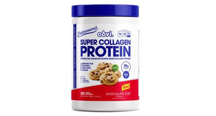 Obvi & Entenmann's Create Cookie-Flavored Collagen Protein Powder