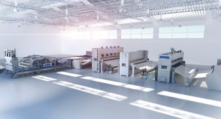 Andritz to Exhibit Nonwovens Production Technologies at Techtextil Russia