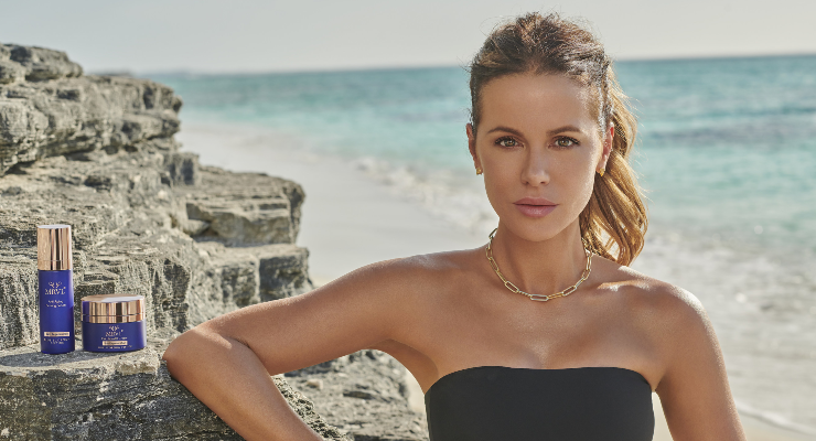 Kate Beckinsale is the Face of MRVL Skin Solutions