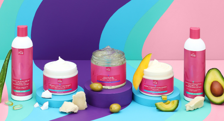 Luster's Pink Launches Moisture Maintenance Hair Care Collection