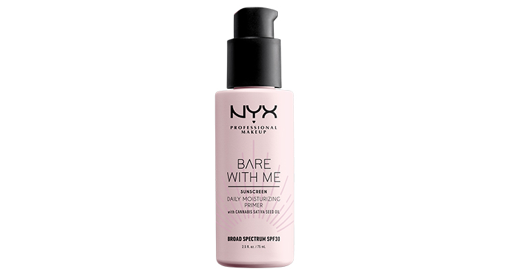 NYX Double-Delivers with Cannabis SPF 30 Primer