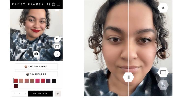 Fenty Beauty Introduces Virtual Try-On Capability