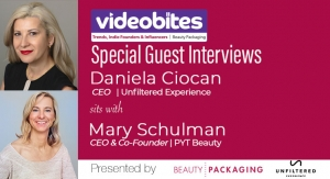 Videobite: Interview with Mary Schulman, CEO & Co-Founder, PYT Beauty