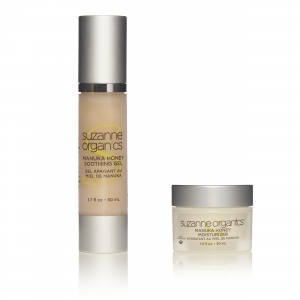 Suzanne Somers Adds Manuka Honey Moisturizer, Soothing Gel To Organic Skin Care