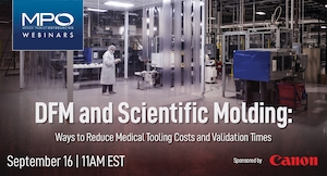 DFM and Scientific Molding: Reduce Medical Tooling Costs and Validation Times