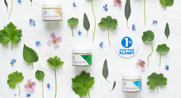 Organic Skin Care Company MuLondon Joins 1% for the Planet