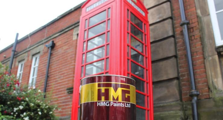 HMG Paints Supports Minutes Matter Campaign