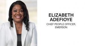 Emerson Names Elizabeth Adefioye Chief People Officer