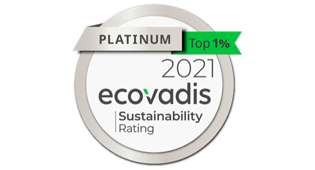 Silab Receives Platinum Medal from EcoVadis for Second Year in a Row