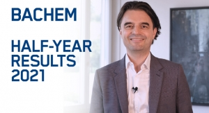 Bachem reports excellent results for the first half-year 2021