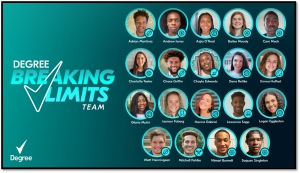 Five College Athlete Partners Added to Degree Deodorant's #BreakingLimits Roster