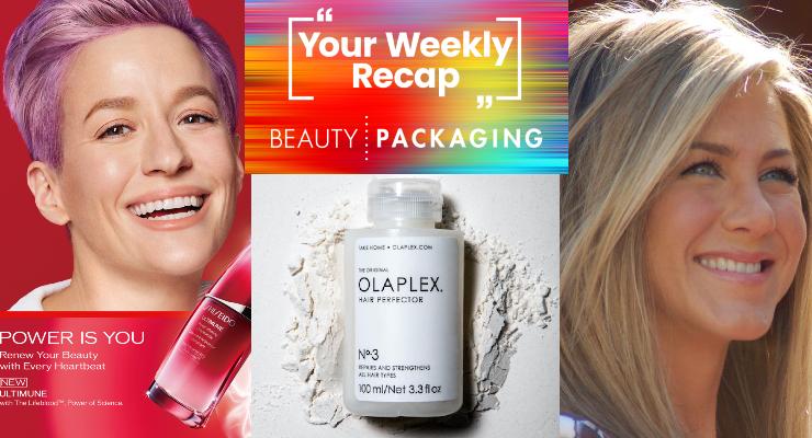 Weekly Recap: Megan Rapinoe Joins Shiseido, Jennifer Aniston Teases LolaVie & More
