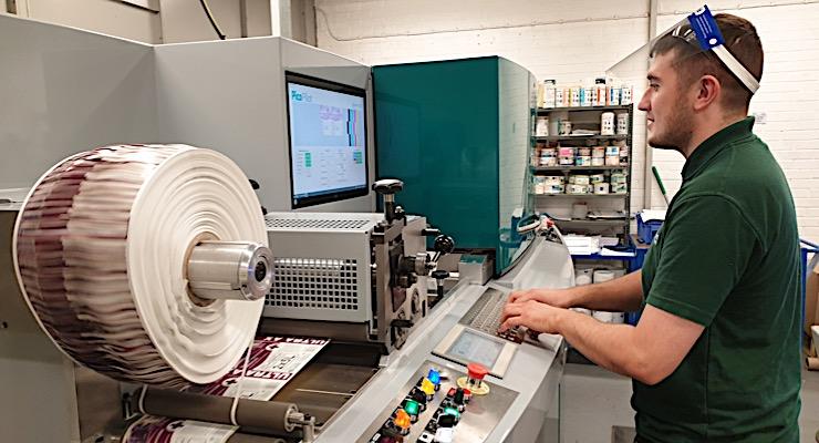 Clover Chemicals invests in Dantex PicoColour UV inkjet digital label press