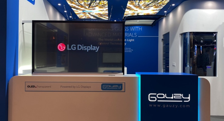 LG Display to Showcase Transparent OLED Display at IAA 2021 in Munich