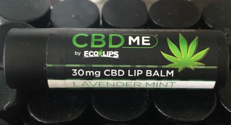 CBD ME Lip Balms Made with Regenerative Agriculture CBD Extract