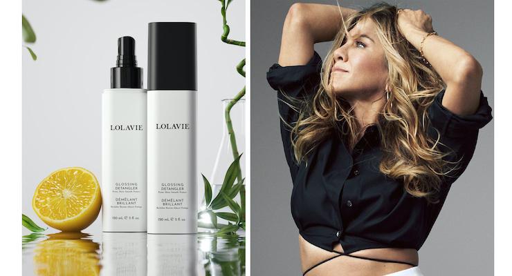 Jennifer Aniston Launches LolaVie Hair Care
